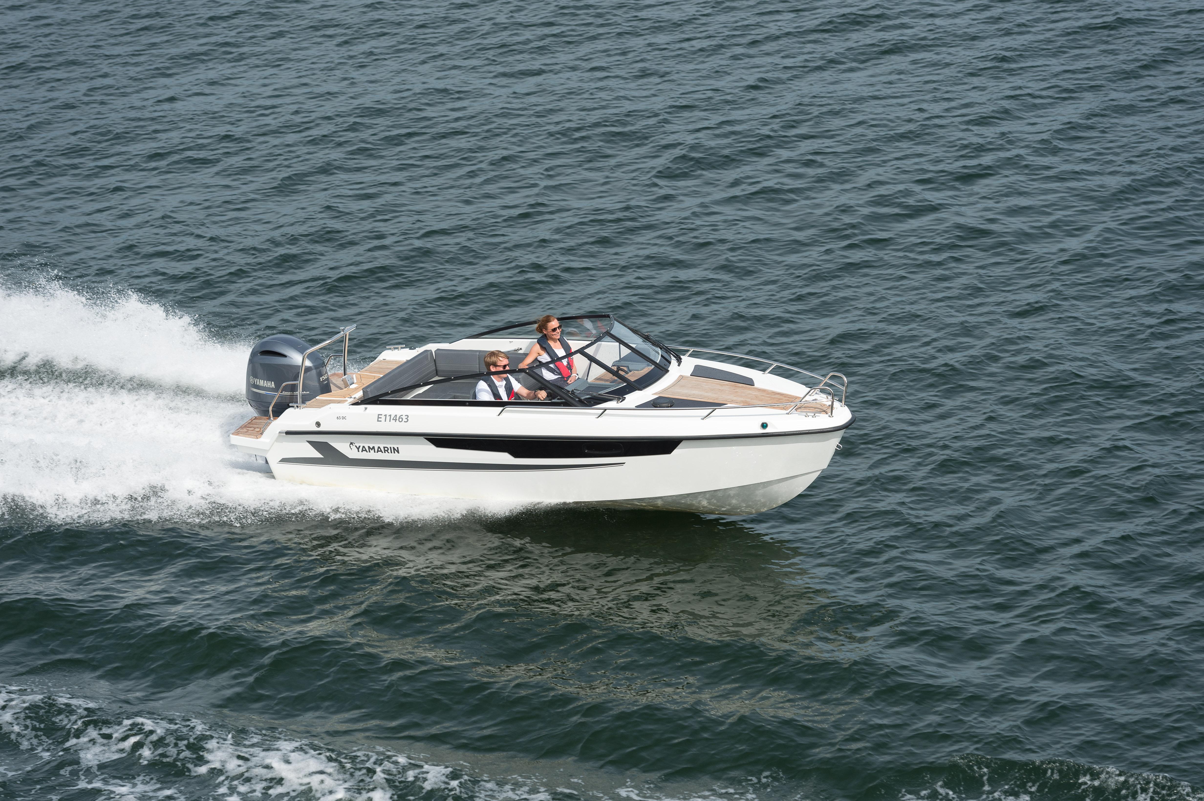 Uuden Yamarin 63DC:n ajo-ominaisuudet ovat tuttua Yamarin-laatua