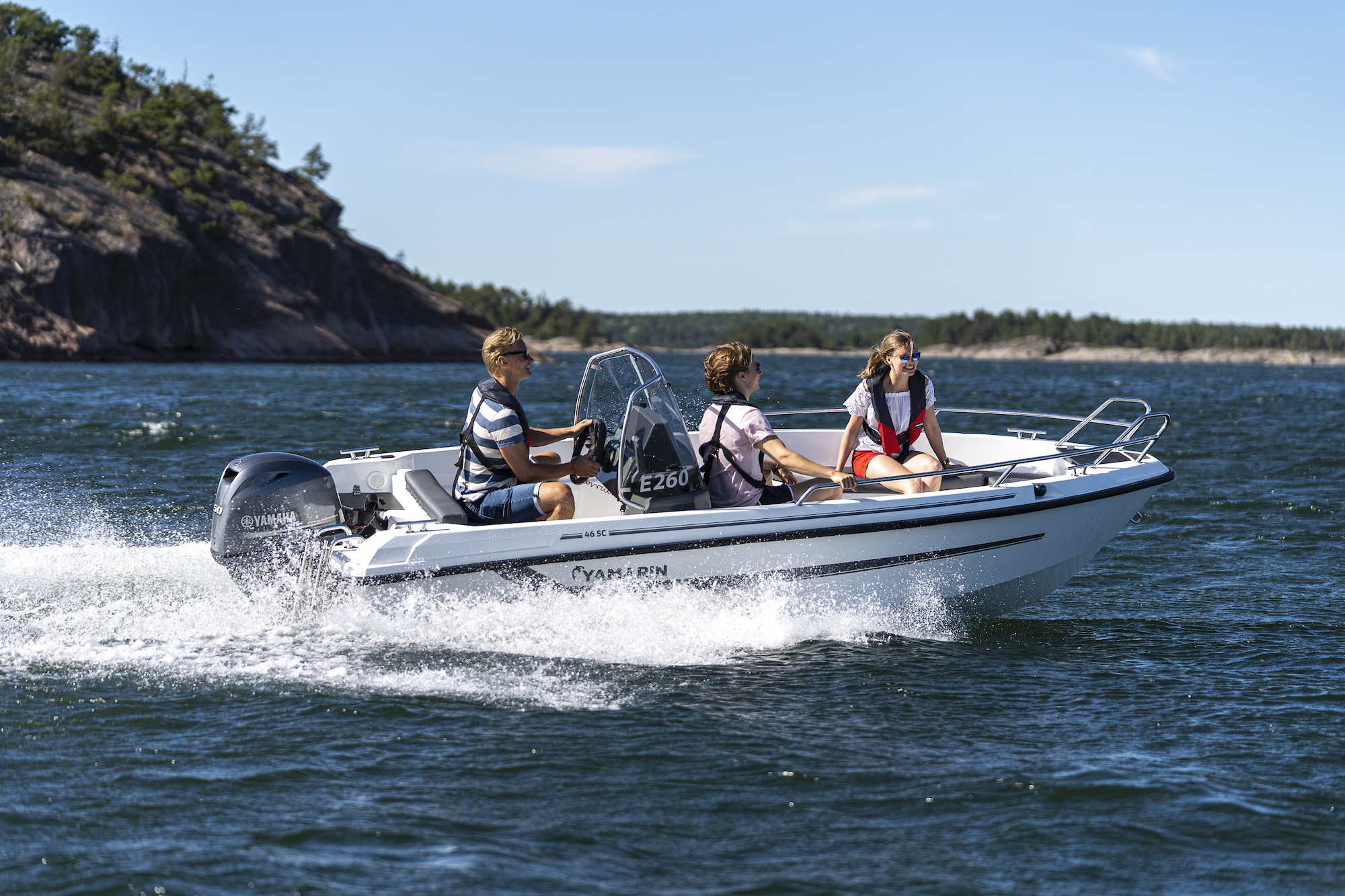 Yamarin 46 SC will be displayed at the Tallinn Boat Show - Meremess 20