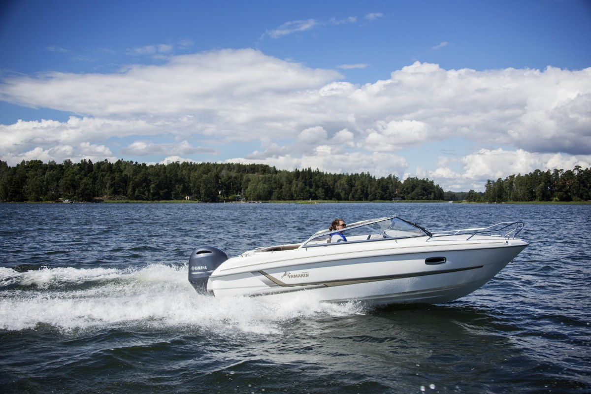 Yamarin 65 DC will be presented at the Düsseldorf boat show