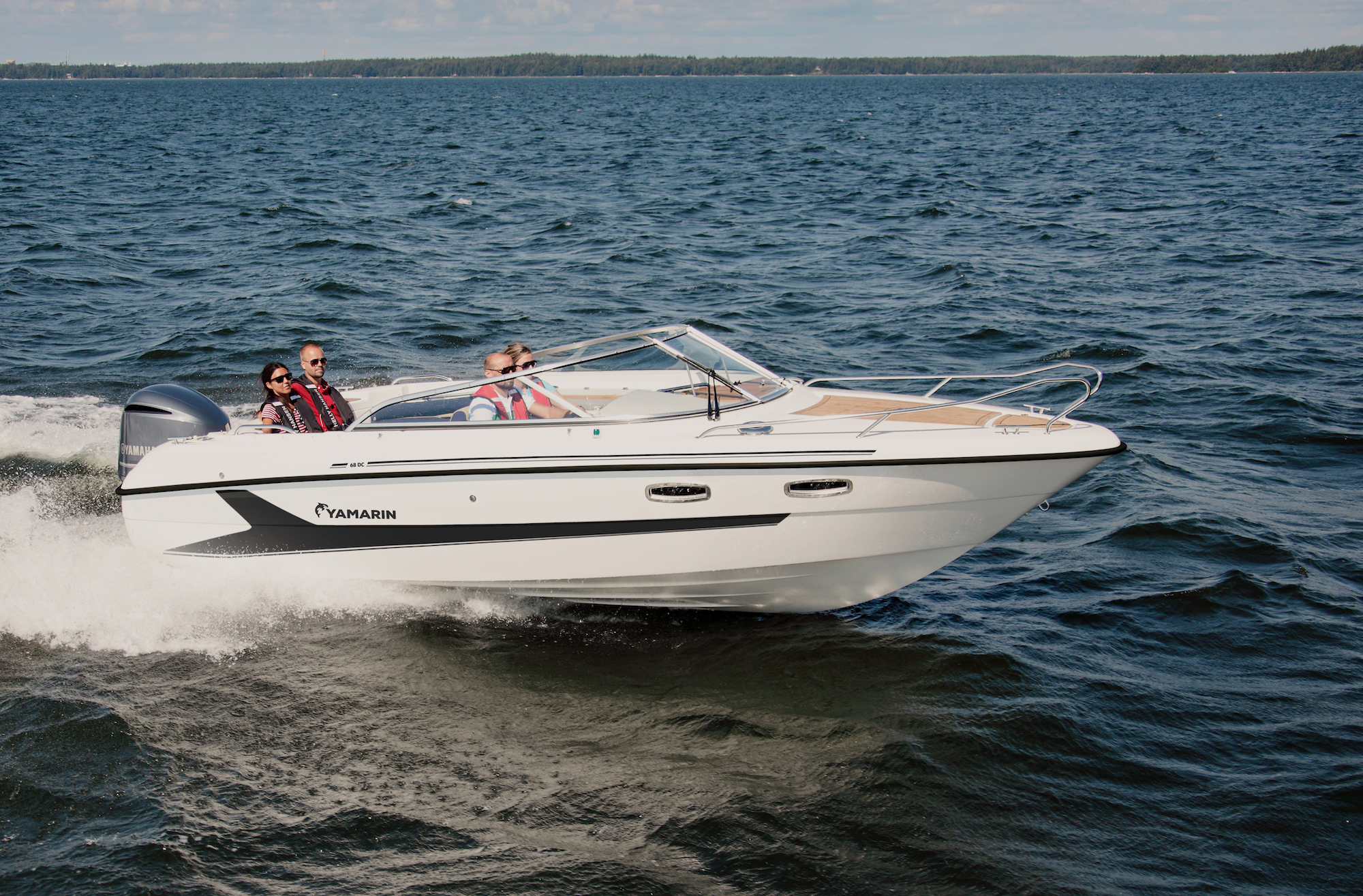 Yamarin 68 DC will be shown at the Düsseldorf boat show 2020