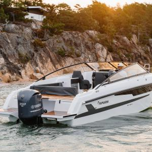The new Yamarin 88 DC at the Düsseldorf Boat Show