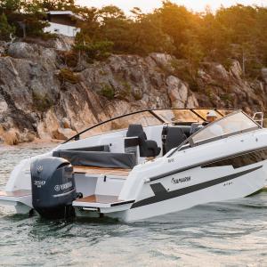 The new Yamarin 88 DC at the Düsseldorf Boat Show