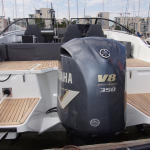 Yamarin 88 DC stiller ut på Båter i Sjøen 2019