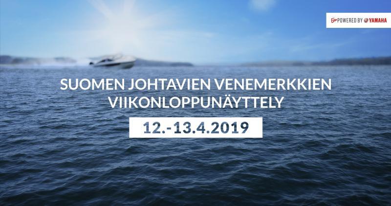 Veneiden viikonloppunäyttely 12.-13. huhtikuuta
