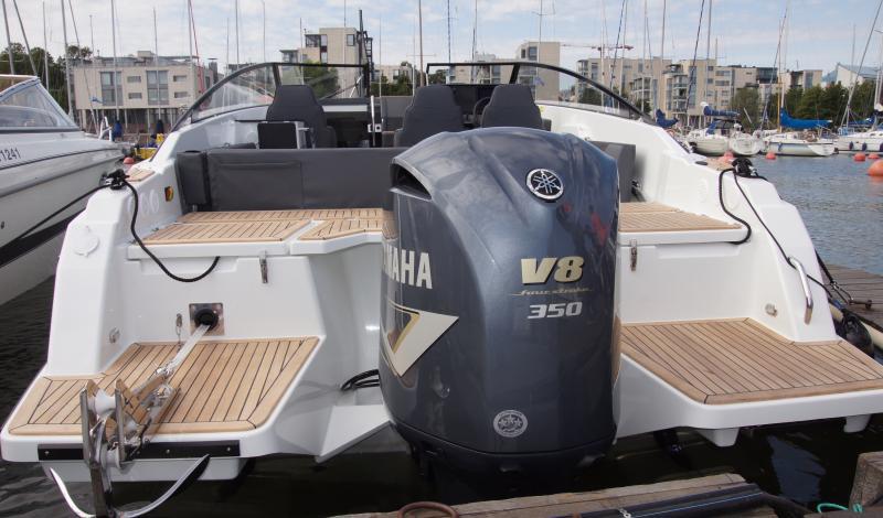 Yamarin båtar presenteras på Allt på Sjön i Gustavsberg 2019
