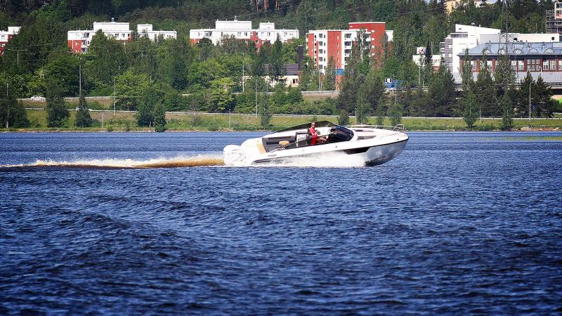 Kalle Rovanperän med Yamarin 88 DC og Yamaha XF425 XTO